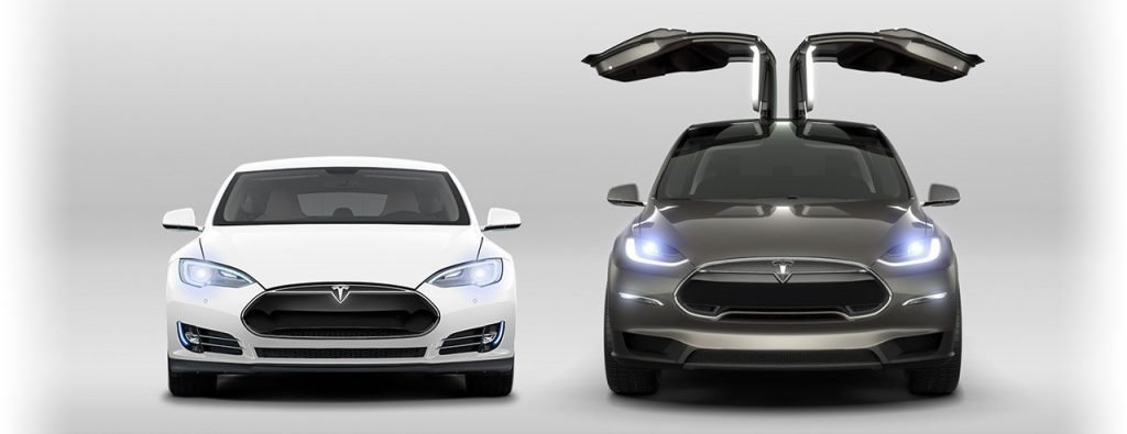 tesla innovative model cars